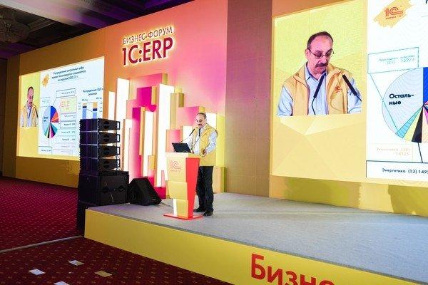 Бизнес-форум 1С:ERP. Выступление Б. Г. Нуралиева